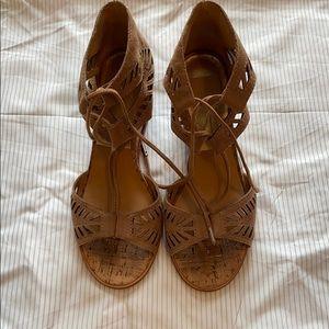 Dolce vita lace up sandals size 6.5